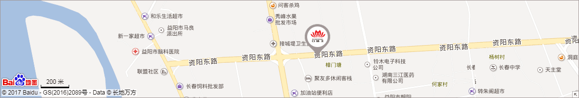湖南口味王集团责任有限公司地图